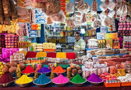 Индийский базар в Москве