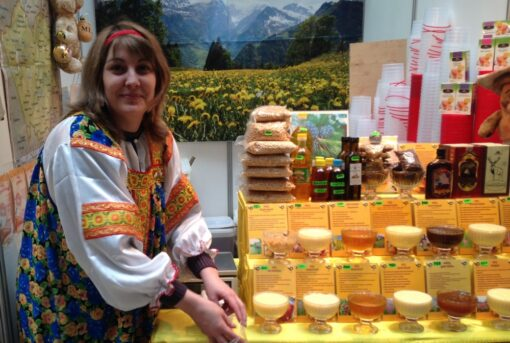 Мёд и сыр в Гостином Дворе
