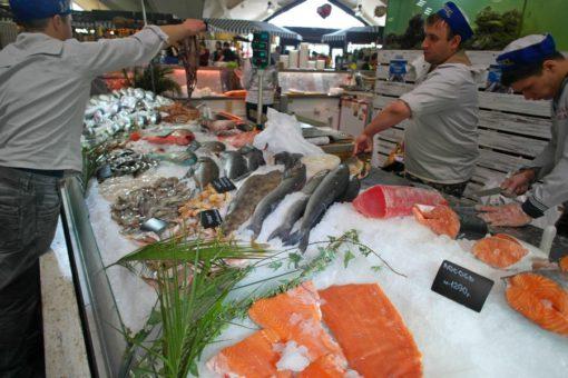 Рыбная неделя на Даниловском рынке